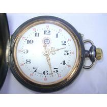 Reloj De Bolsillo Rosskopf 3 Tapas Funciona Perfectamente