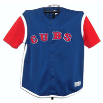 Casaca Mlb Baseball Original Import Chicago Cubs Talle M/ L