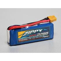 Bateria Zippy 2200 2s 40c Bateria Revinho 1/16 - Fúria Hobby
