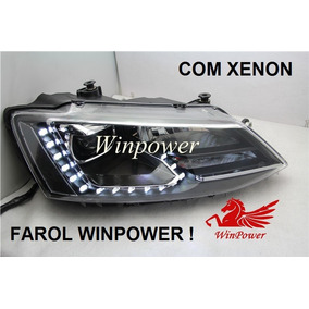 Farol Led Jetta Mk6 2015/2016 Com Xenon - Winpower O Melhor!