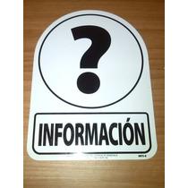 Señalizaciones Y Avisos De Informacion