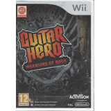 Guitar Hero Warrior Of Rock Nintendo Wii Disco Original (pal