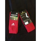 Calcetas Soccer Adidas Metro Sock En Color Rojo