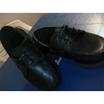 Zapatos Negros De Vestir Tipo Mocasín Niño Talla 26 Y 29