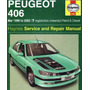 Manual De Taller Peugeot 406 1995-2004 Envio Gratis