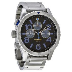Reloj Nixon A4861529 Cronografo 48-20 200m Wr Acero