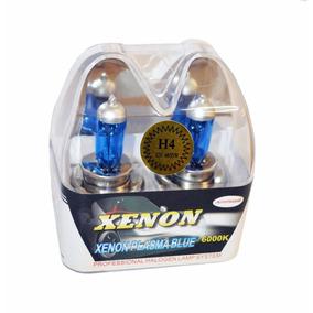 Lâmpada Super Branca H4 Autotrend Efeito Xenon 55w 6.000k