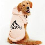 Chamarra Ropa Perro Sudadera Adidog Rosa Mascota 4xg