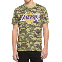 Playera Nba Camuflaje Los Angeles Lakers 47 Brand