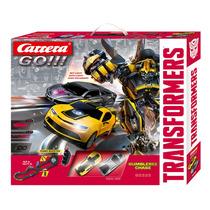 Pista De Carreras Go!! Transformers Bumblebee Original