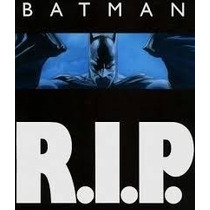 Comic Digital Batman R.i.p.