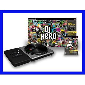 Dj Hero Ps2 Playstation 2 Pick Up Completo Original