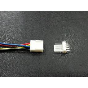 Cable De Cuatro Conductores Con Conector Electronico Pcb