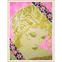 Cuadro Pintura Mujer Rostro Decorativo Casa Hogar