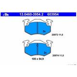 Balata Ate Trasera Peugeot Cc 206 1.6 L 00-08 306 09-02 R9v4