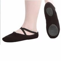 Zapatillas Ballet Media Punta 21 Y 19.5 Suaves Lona Danza
