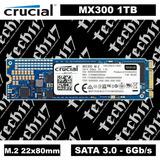Disco Sólido Ssd M.2 22x80mm Crucial Mx300 1tb Sata 3.0
