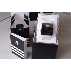 Elegante Reloj Deportivo Led Importacion Correa Color Blanca