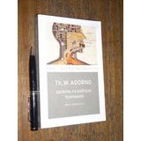Escritos Filosóficos Tempranos Theodor Adorno Akal Nuevo