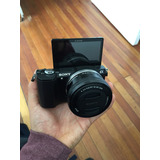 Sony Camara A5000 20.1mp/ Full Hd/ Wi-fi /nfc / Lente 16-50