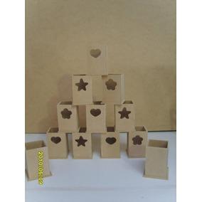 10 Lapiceros Calados Souvenirs-mdf-fibrofacil- $85