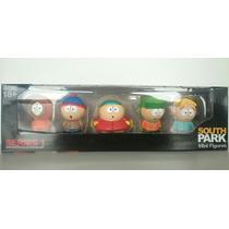 Bonecos South Park 5 Pçs Oficiais C/ Caixa Original