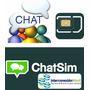 Simcard Chatsim Chatea Con Cobertura En Cuba Y150 Países Mas
