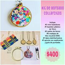 Kit De Bordado Collarcitos En Minibastidores