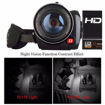 Compre Filmadora Semi Profissional Com Visão Noturna Ful-hd