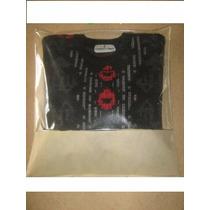 Saco Sacola P/blusa E Sapatos Tnt C/visor.kit100 Unid..39x60