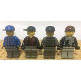Lote Lego Original Linha Sports Goleiros Equipe De Futebol