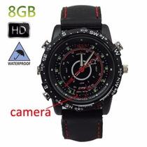 Relógio Espião 8gb Micro Câmera Vídeo Foto Pronta Entrega