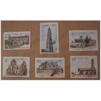 Colección 6 Timbres Postales - Sitios Historicos - Cuba 1967