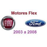 Motores Flex - Fiat E Ford - Esquemas E Diagramas Elétricos