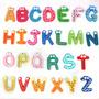 Colorido Lindo 26 Letras De Madera De Dibujos + Envio Gratis