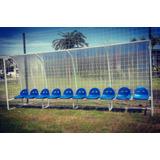 Bancos De Suplentes Para Canchas De Fútbol 10 Butacas