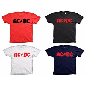 Camisas De Rock Ac Dc Iron Maiden The Beatles Rock And Roll