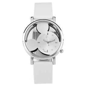 Reloj De Pulsera Mickey Mouse Para Mujer O Niño Envío Gratis
