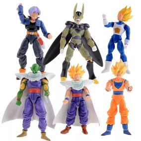 Dragon Ball Z Set 6 Piezas Figura De Acción De Juguete Anime