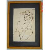 3 Cuadros Del Pintor Villafuerte Mujeres Desnudas!!!