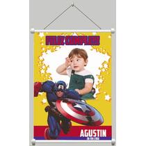 Banner Infantil 100x120 Cumpleaños, Comunion, Bautismo