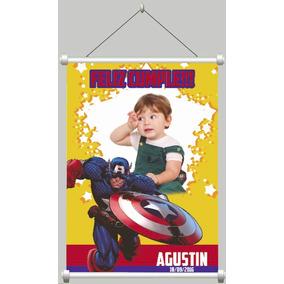 Banner Infantil 90x120 Cumpleaños, Comunion, Bautismo