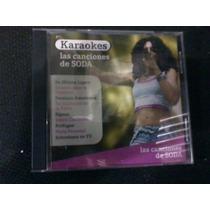 Cd Karaoke Las Canciones De Soda Año 2006 De Musica Ligera