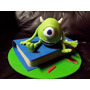 Adorno Para Torta Mike Monsters University/ Monsters Inc
