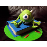Adorno Para Torta Mike Monsters University/ Monsters Inc
