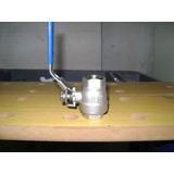 Valvula Esferica 1/2 Pulg Acero Inox