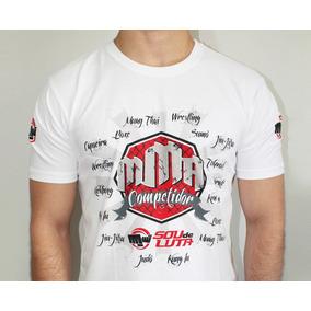 Camiseta Mma Competidor Ufc - Sou De Luta Fight Wear