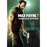 Max Payne 3 Complete Edition - Steam Gift Card Original