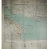 Carta Buenos Aires Rio Plata 1950 In Geografico Militar Mapa