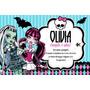 Kit Imprimible Monster High Invitaciones Candybar Tarjetas